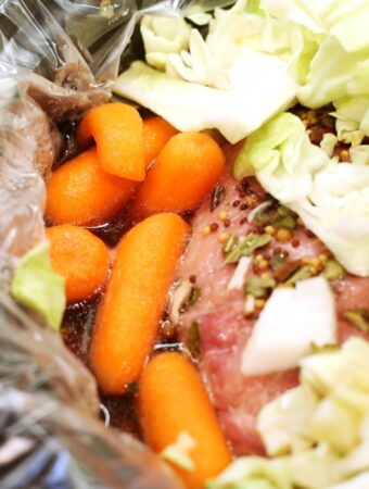 Crockpot Guinness Stout Corned Beef and Cabbage Recipe