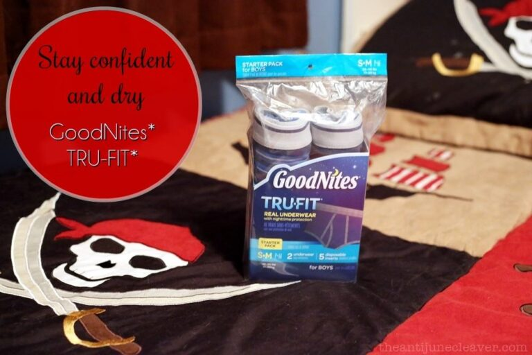 We Stay Confident and Dry with GoodNites* TRU-FIT*