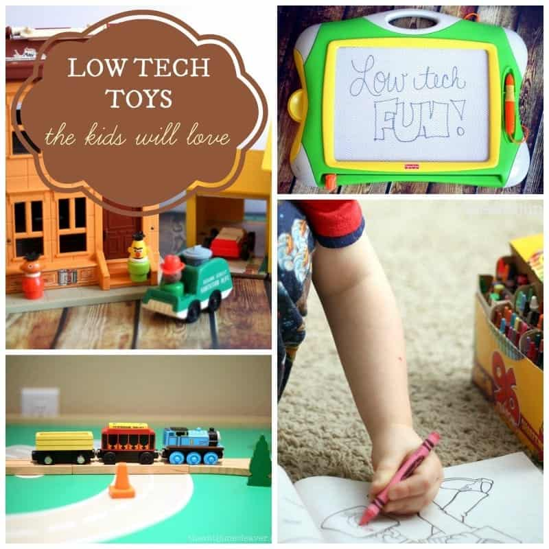 Low-tech toys that the kids will love