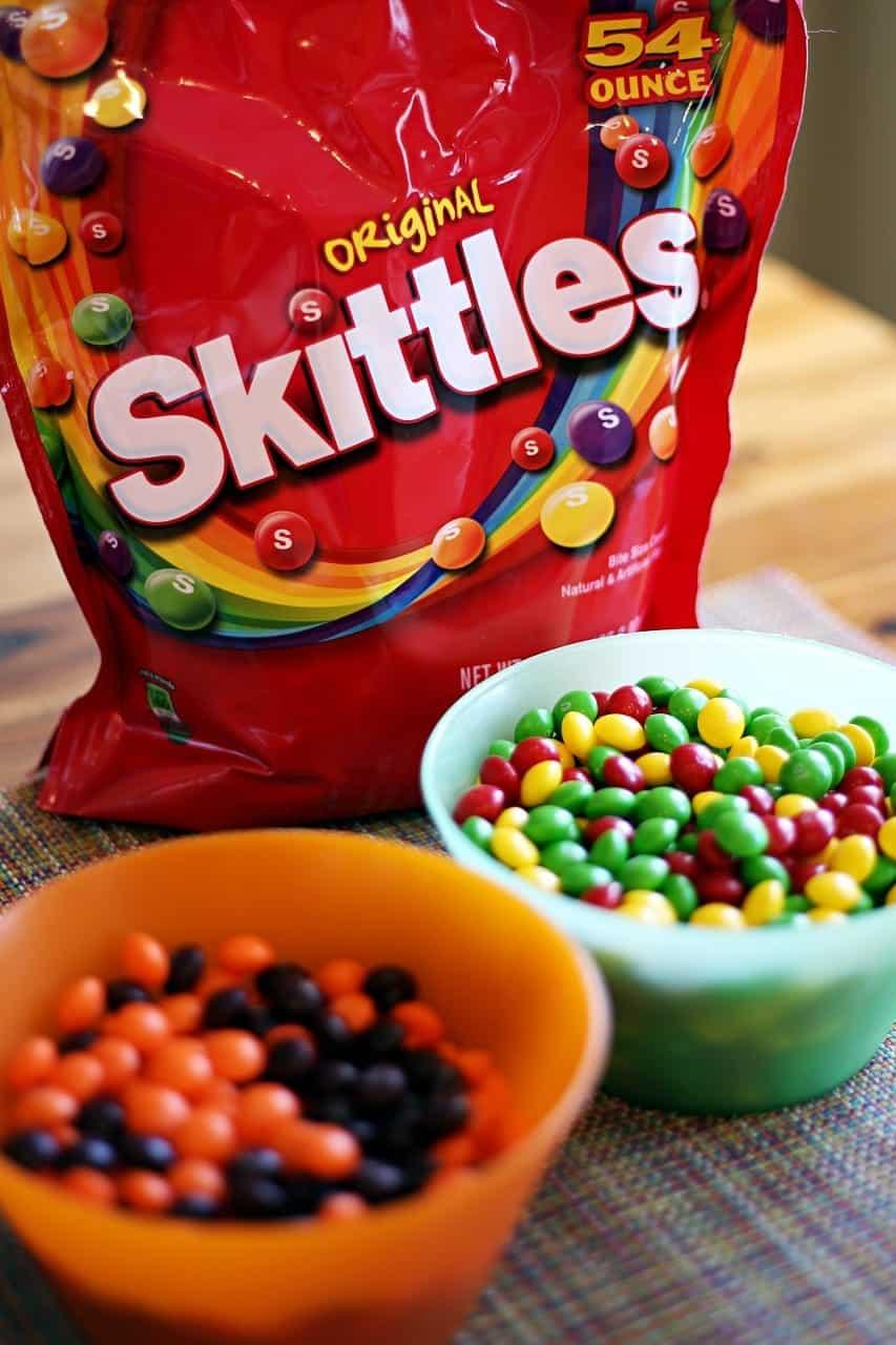 Cupcakes: Rainbow Skittles cupcake recipe
