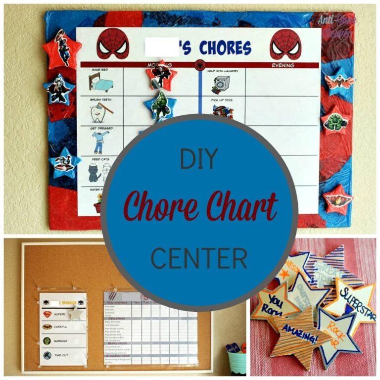 DIY Chore Chart Center + Free Printable