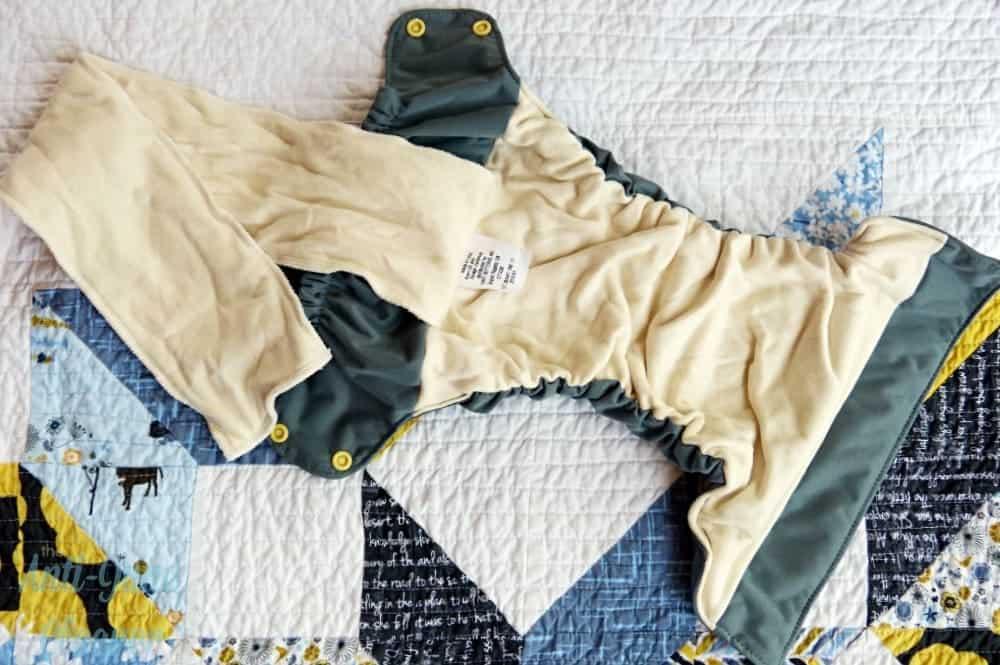 Smart Bottoms AIO cloth diaper review