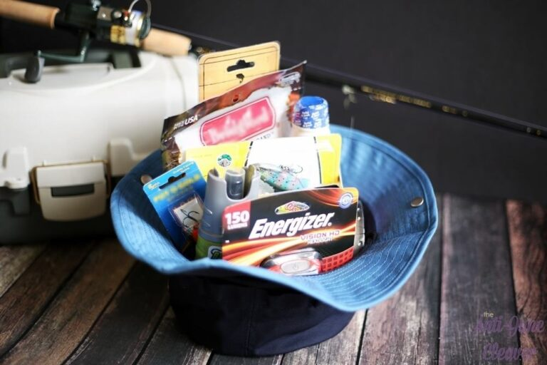 DIY Father's Day Fisherman's Gift Basket