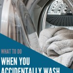 What to do when you accidentally wash a disposable diaper in the washing machine
