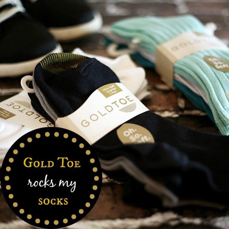 Gold Toe 'Oh. So. Soft.' Rocks My Socks!