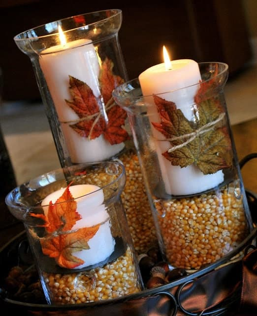 Thanksgiving and Fall Decorations and Crafts for Adults
