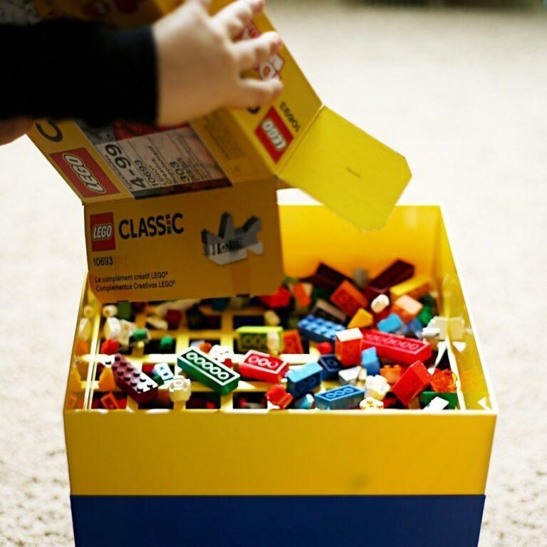 Box for Blox Building Brick Sorter