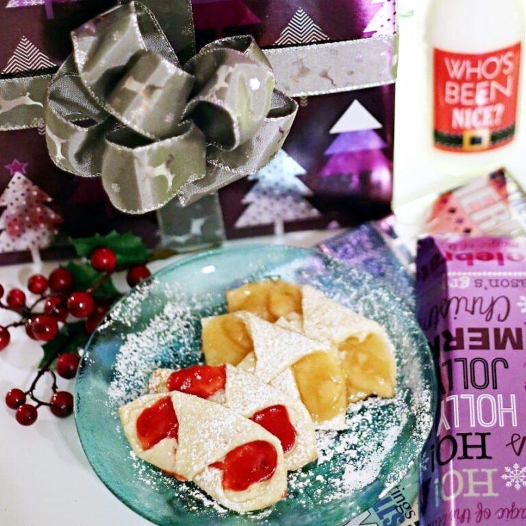 Tea Cookies Plus a DIY Ribbon Gift Bow