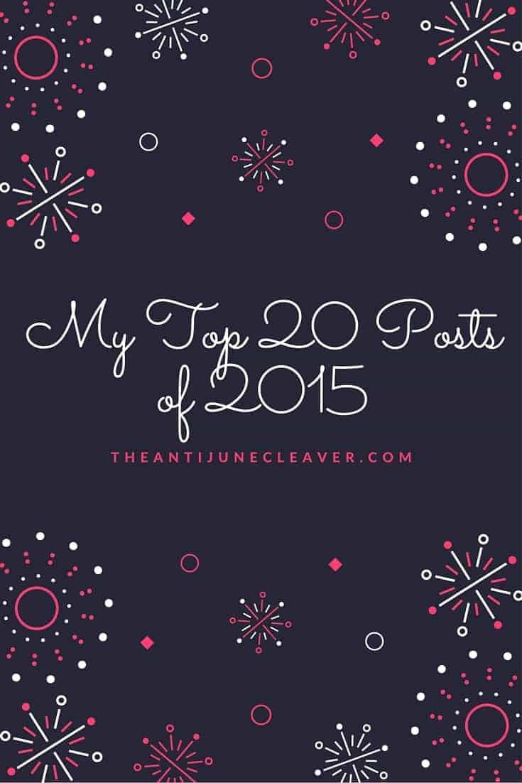 My top 20 posts of 2015