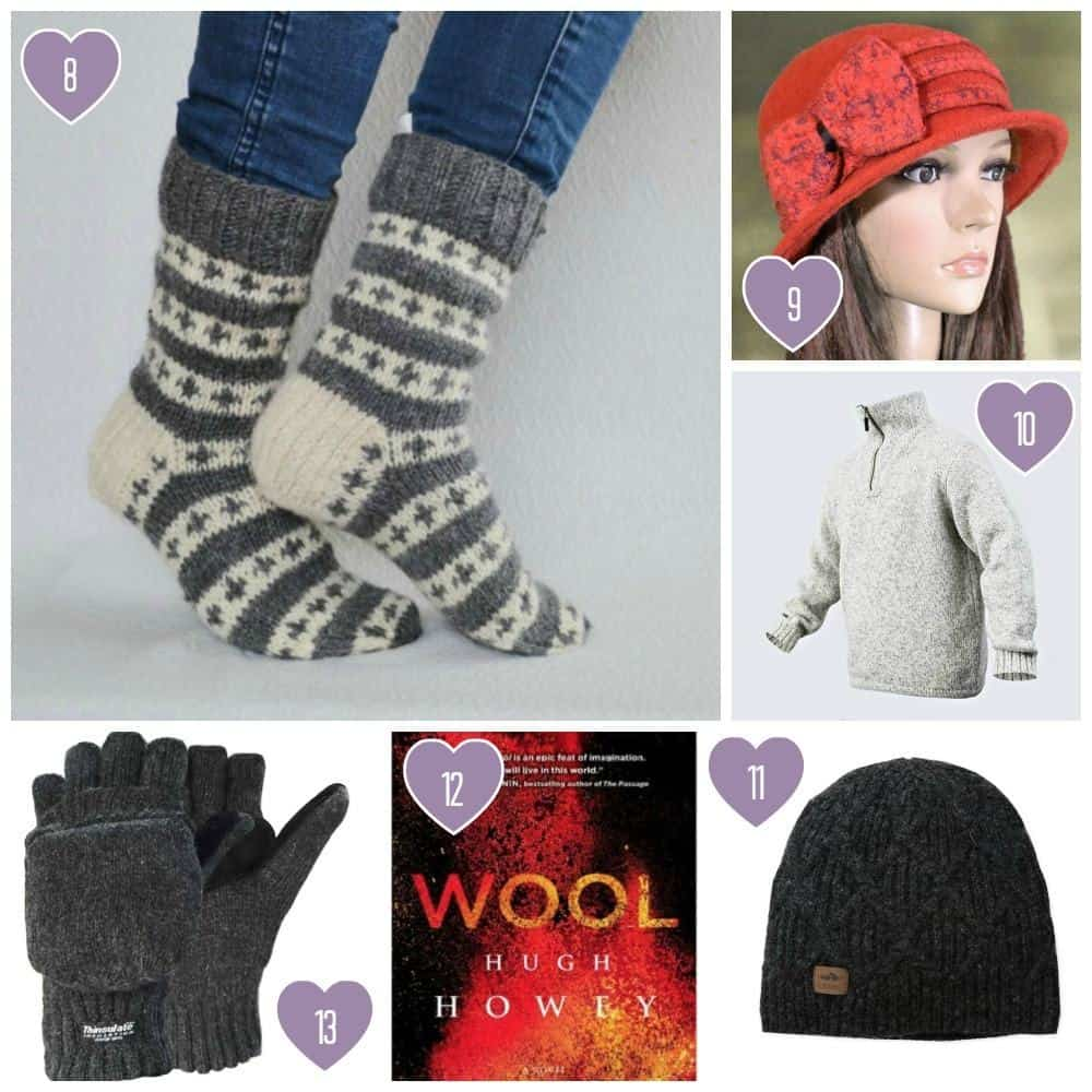 7th Anniversary Gift Ideas for Him and Her: Wool