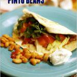 Pressure Cooker Pinto Beans Recipe
