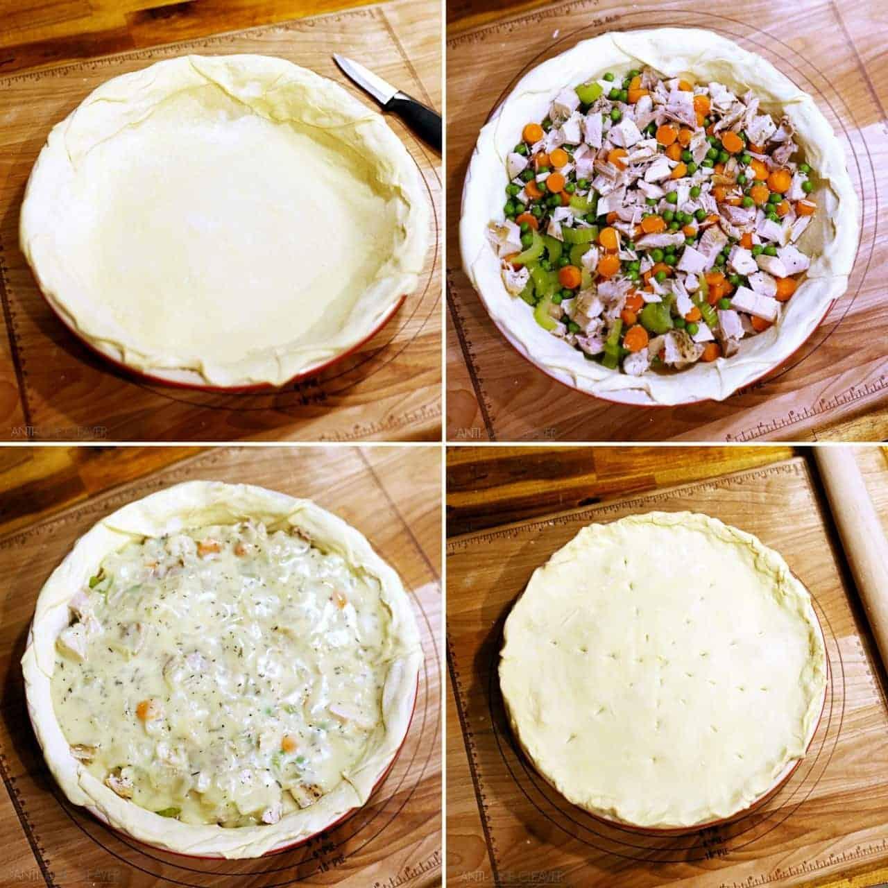 Pretty Freaking Amazing Homemade Chicken Pot Pie Recipe