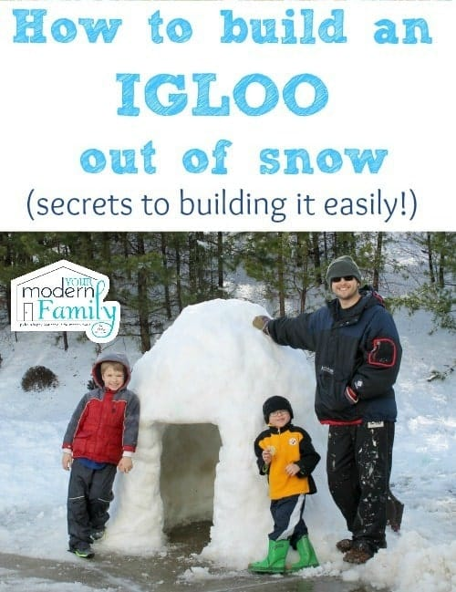 Fun Activities for the Kids to Do in the Snow: Build an Igloo