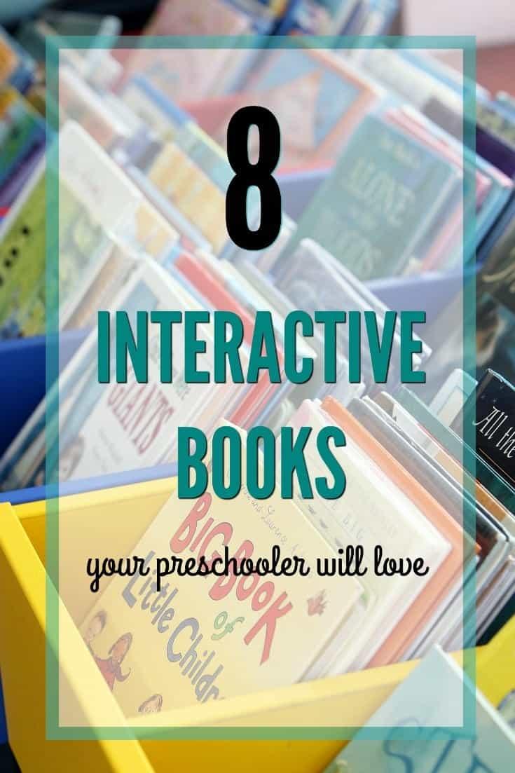 8 Great Interactive Books for Preschoolers {AKA: lf You Like Press Here}