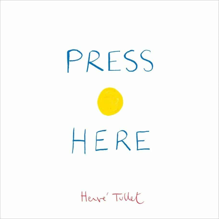 Great Interactive Books for Preschoolers & Toddlers: Press Here