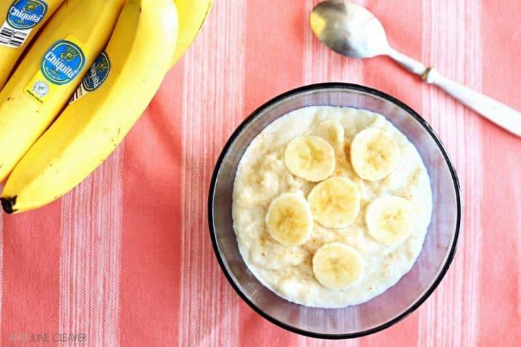 Honey Banana Cream of Wheat