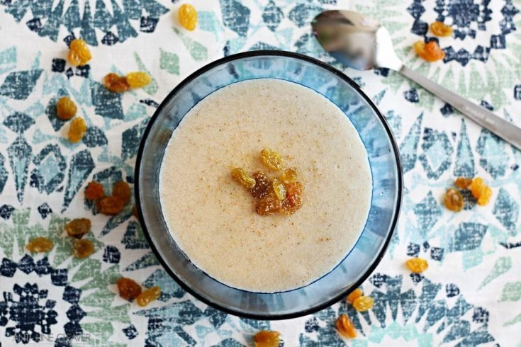 Spiced Golden Raisin Cream of Wheat