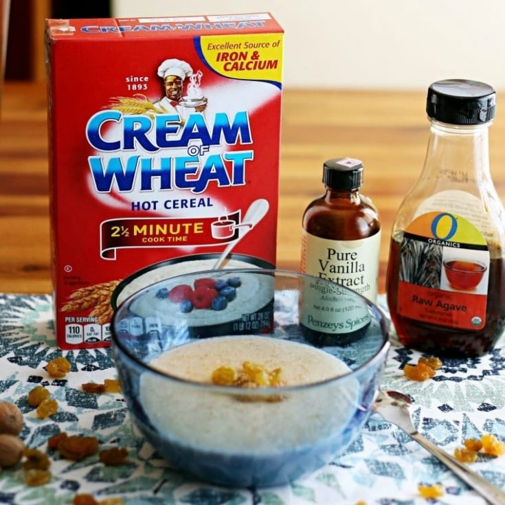 Life is Too Short to Eat Boring Cream of Wheat {3 Recipes}