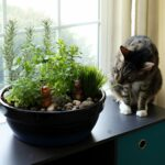 How to Make Your Own DIY Indoor Cat Garden #cats #catgarden #catdiy #diy #pets