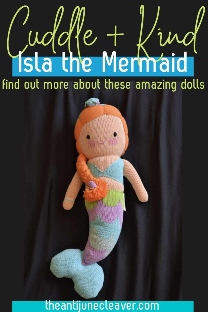 Isla the Mermaid Cuddle and Kind doll review