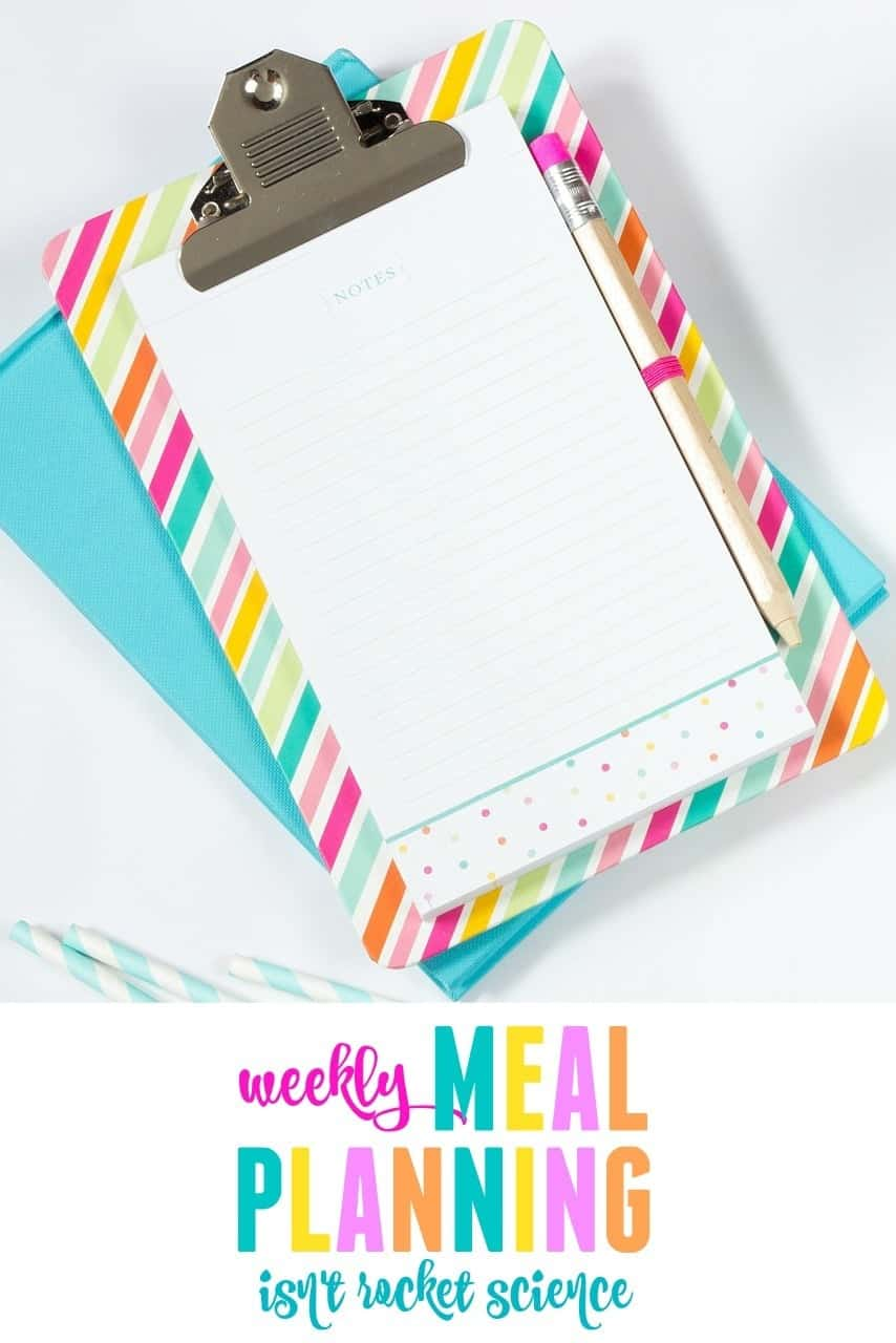 Weekly meal planning doesn't have to be rocket science. Check out our super simple method that keeps us on track every week.