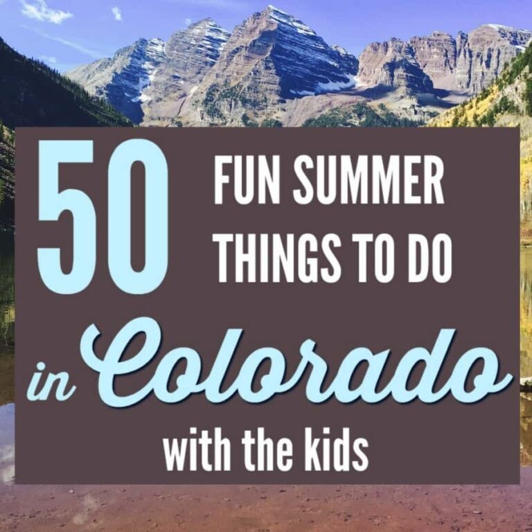 50 Fun Summer Things to Do in Colorado with Kids