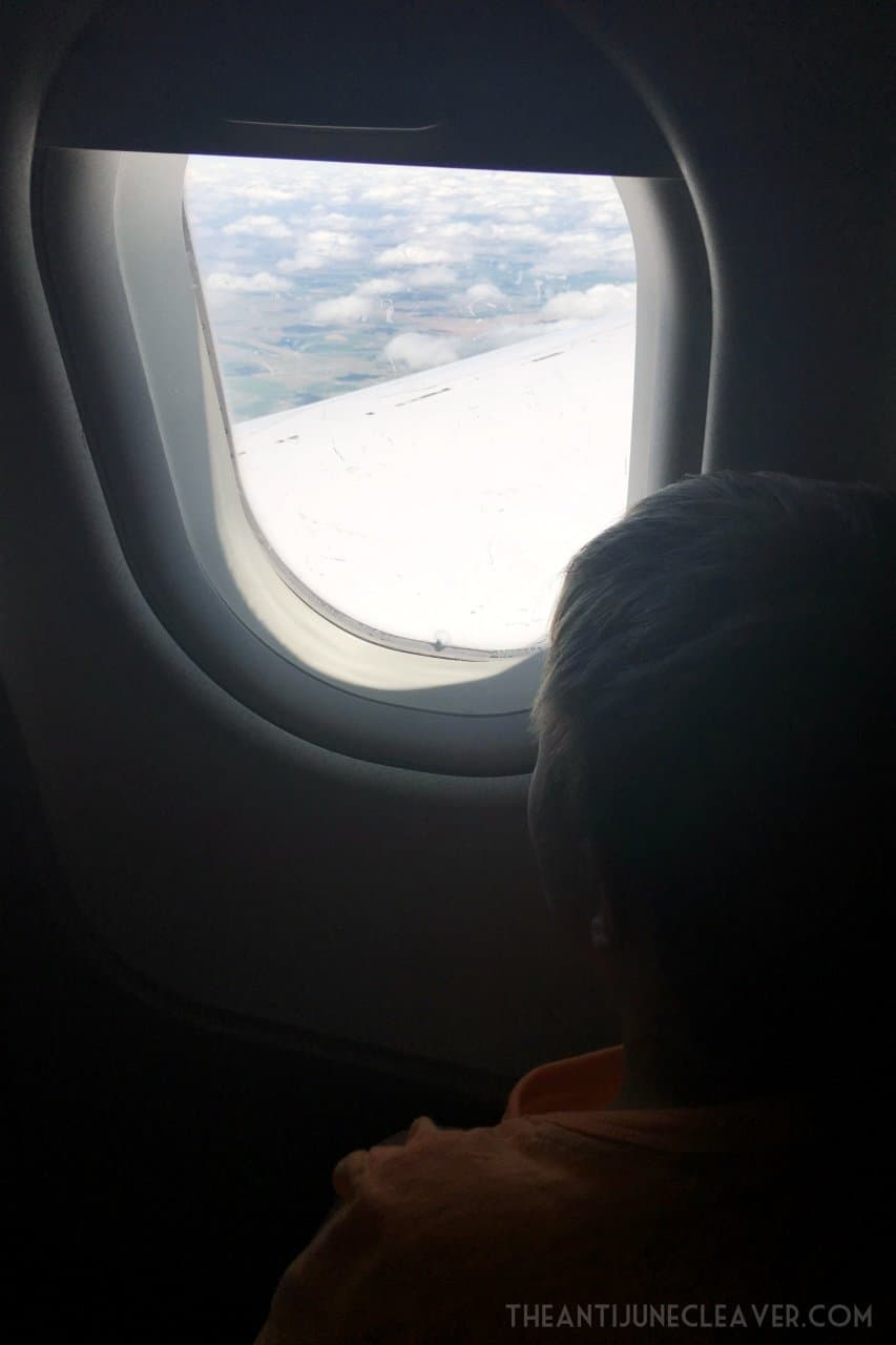 Flying Alone with the Kids