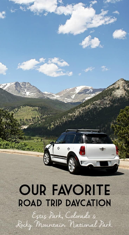 Our Favorite Road Trip Stops in Estes Park, Colorado & Rocky Mountain National Park #RoadTripOil AD