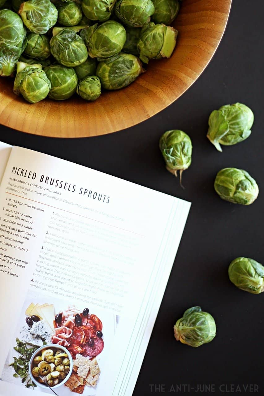 How to make pickled brussel sprouts
