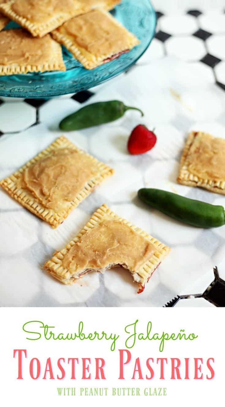 Spice Up Your Morning with Strawberry Jalapeño Toaster Pastries #SpreadTheHeat AD