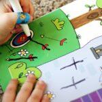 Preparing for Kindergarten with Wipe-Clean Books