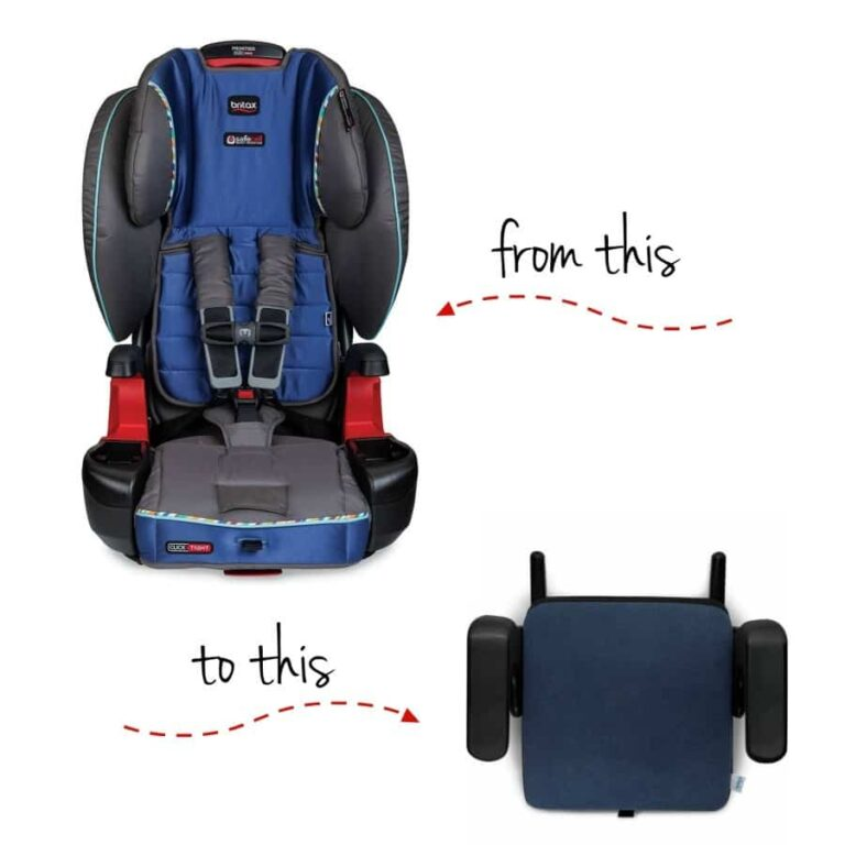 When to Switch to a Backless Booster Seat