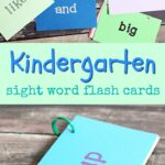 Get Your Child Ready for Kindergarten with Sight Word Flash Cards and Help Their School with Box Tops from @Costco (ad)