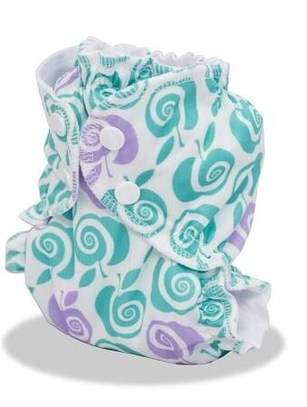 AppleCheeks Cloth Diaper Review - Size 1 newborn