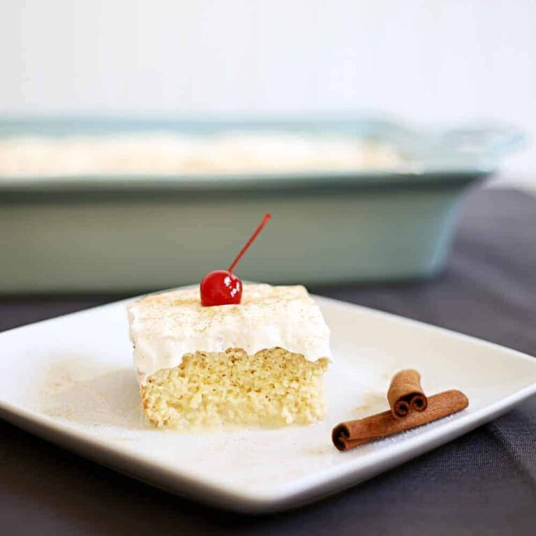 Easy Tres Leches Cake Recipe