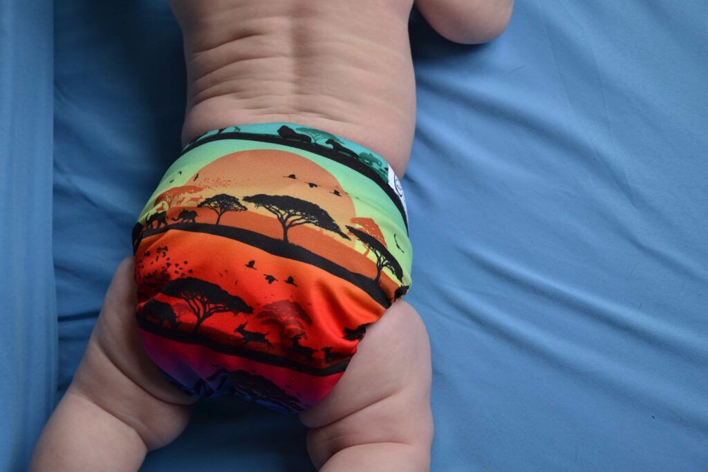 Cloth Diapers: Nicki's Diapers Ultimate AIO cloth diaper review
