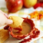 """Apple Pie """"Fries"""" with Caramel Sauce, the Perfect Easy Fall Dessert"""