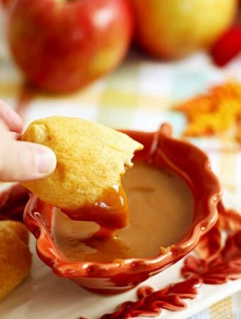 "Apple Pie ""Fries"" with Caramel Sauce @Pillsbury #ItsBakingSeason AD"