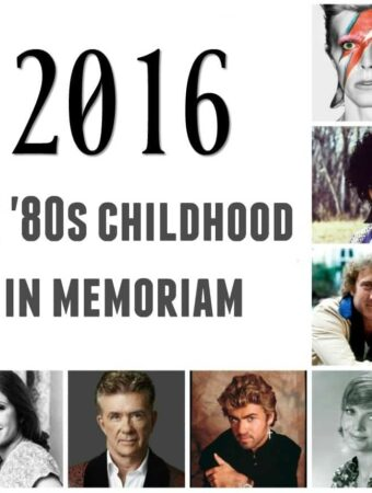 2016: The Year My Childhood Died {Celebrity Deaths}