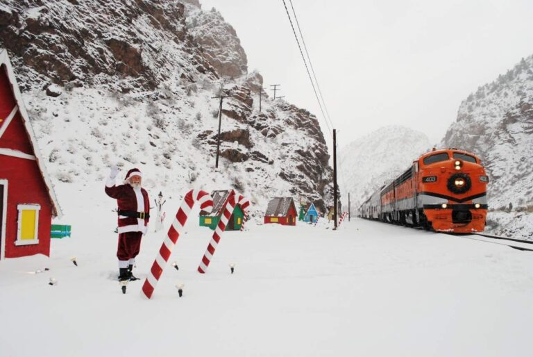 Take aRide on the Royal Gorge Santa Express.