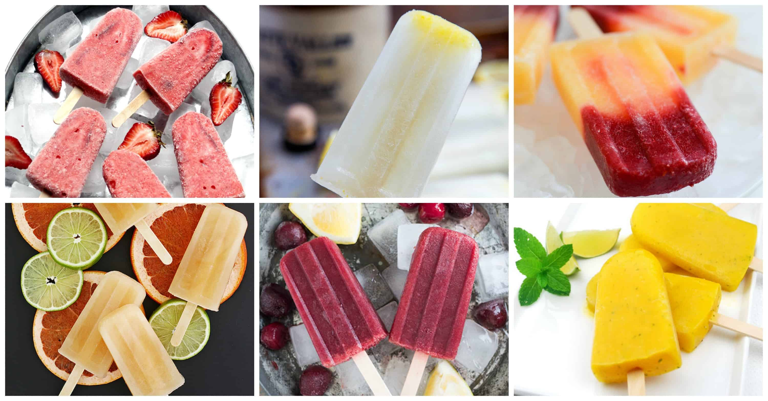 67 Poptails! Boozy alcoholic adult popsicles to cool off with this summer - classic cocktails