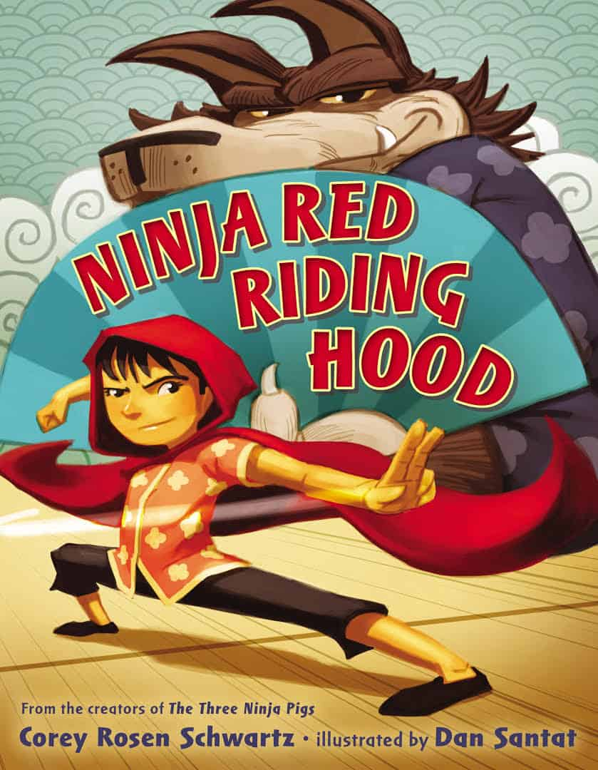 Celebrating Children's Book Week with 10 New Favorite Books - Ninja Red Riding Hood