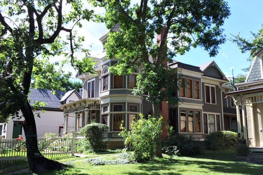 Mork and Mindy's house, Pine Street, Boulder, Colorado