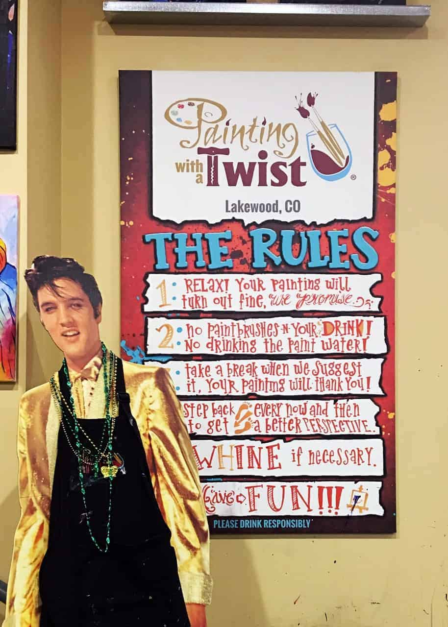 A Date Night with My Teen Son: Painting with a Twist. A fun idea for a parent and teenager date or fun with friends. (AD) #PaintingWith ATwist Find a location here: https://ooh.li/4d05949