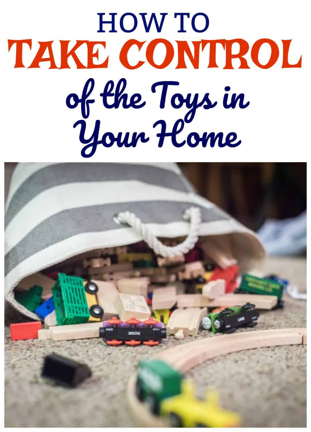 5 ways to reduce toy clutter in your home
