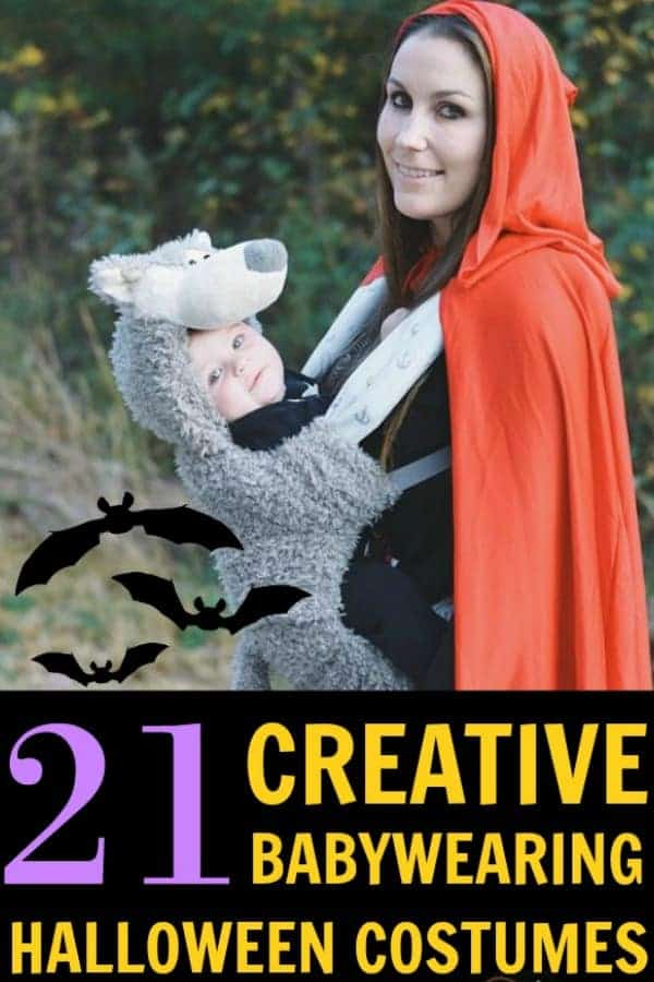 Babywearing Halloween Costumes