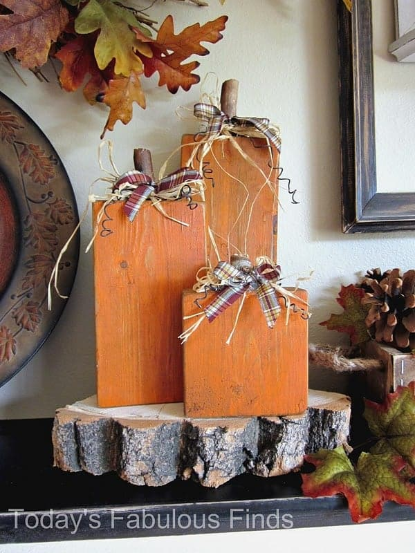 Get your home ready for fall, halloween, or thanksgiving with these gorgeous DIY farmhouse decor ideas (roundup)