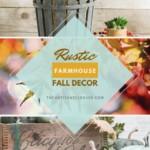 Rustic Farmhouse Fall Autumn Decor Ideas