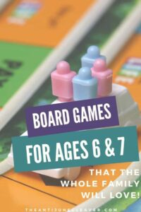 Board Games for 6 & 7 Year Olds