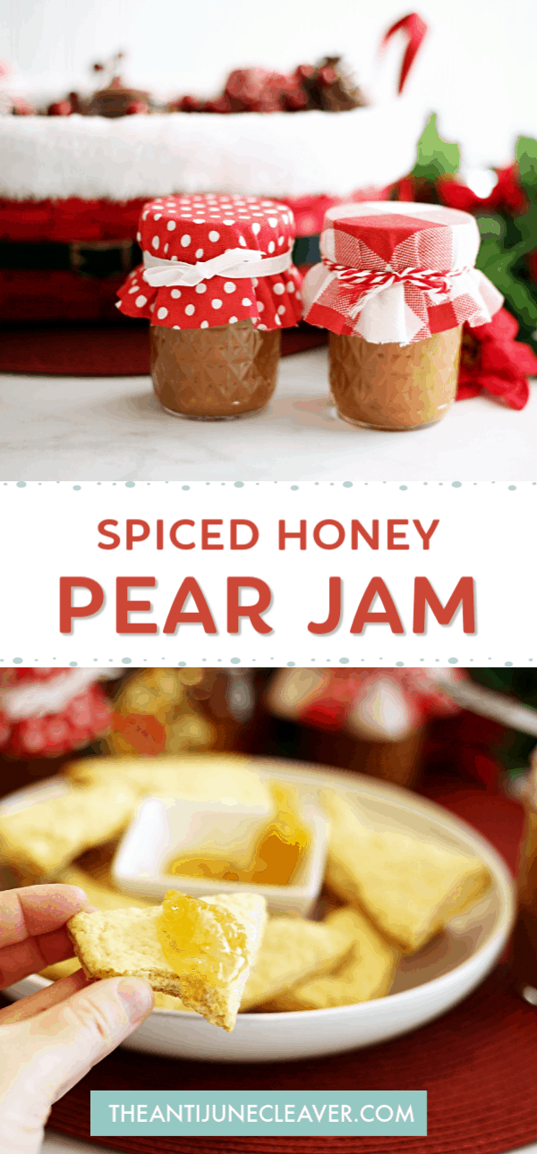 honey pear jam recipe